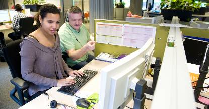 Over het contactcenter